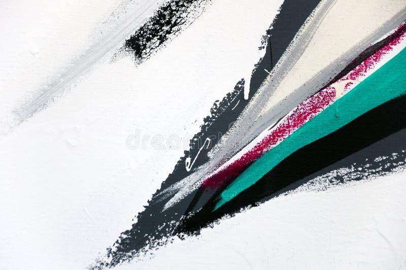 De geschilderde Textuur van het Canvas vector illustratie
