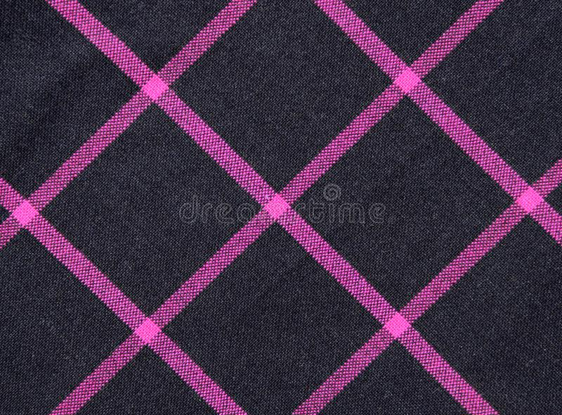 De gestreepte textuur van het stoffenpatroon voor achtergrond stock foto