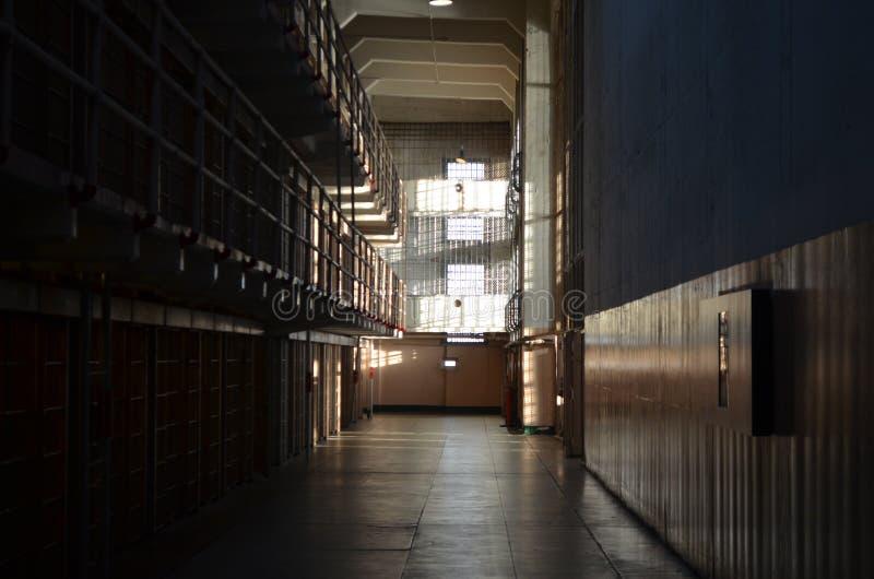 De gevangenis van Alcatraz royalty-vrije stock foto