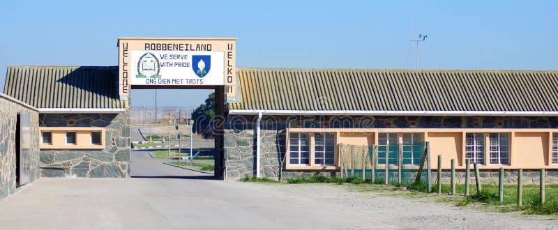 De Gevangenis van het Robbeneiland royalty-vrije stock fotografie