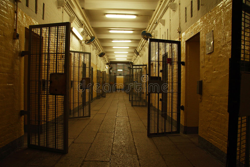 De gevangenis van Victoria stock foto