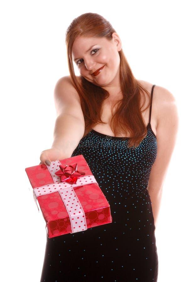 Download De Gever van de gift stock foto. Afbeelding bestaande uit gift - 296418
