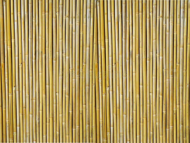 De Geweven Achtergrond van het bamboe stock fotografie