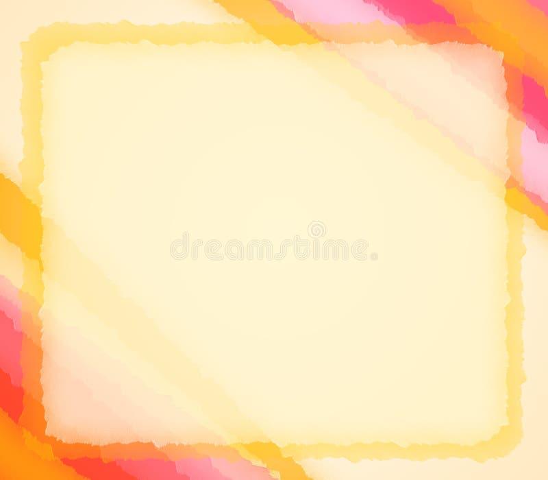De Geweven Achtergrond van het Papieren zakdoekje van de pastelkleur vector illustratie