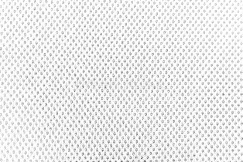 De geweven witte textuur van de stoffendoek met natuurlijke patronen kan zijn royalty-vrije stock foto