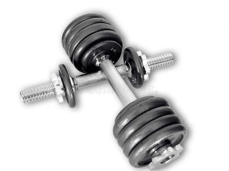 De gewichten van de sport stock foto