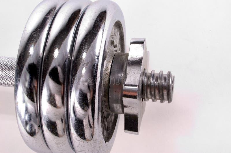 Download De Gewichten Van Het Chroom Stock Foto - Afbeelding bestaande uit gewichten, spier: 33450
