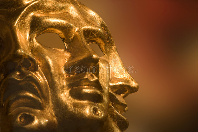 De gezichten van de boom - masker van Venetië royalty-vrije stock foto's