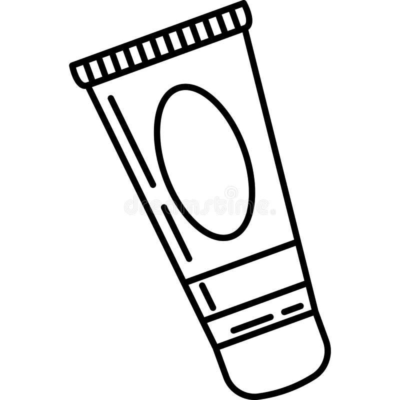 De gezichtsvector van het Roompictogram vector illustratie