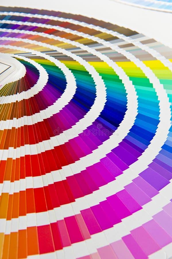 De gids van de kleur stock illustratie