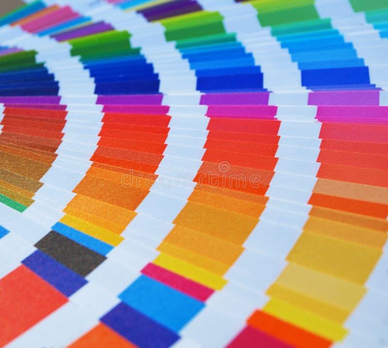 De gids van de kleur royalty-vrije stock afbeeldingen