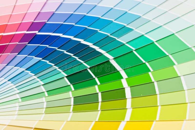 De gids van de kleur. royalty-vrije stock fotografie