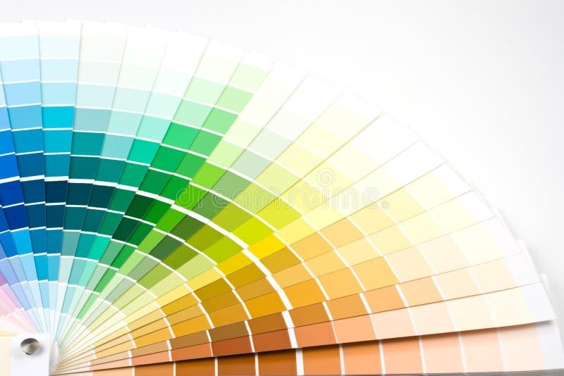De gids van de kleur. stock afbeelding
