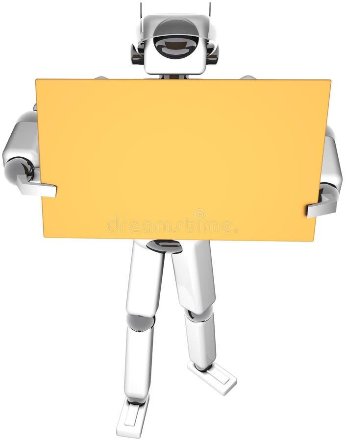 De Gids van de robot royalty-vrije illustratie