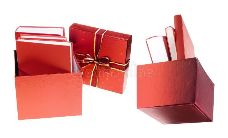 De gift van boeken royalty-vrije stock foto's