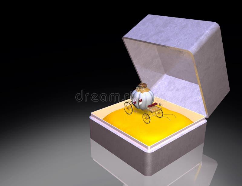 De gift van Cinderella vector illustratie