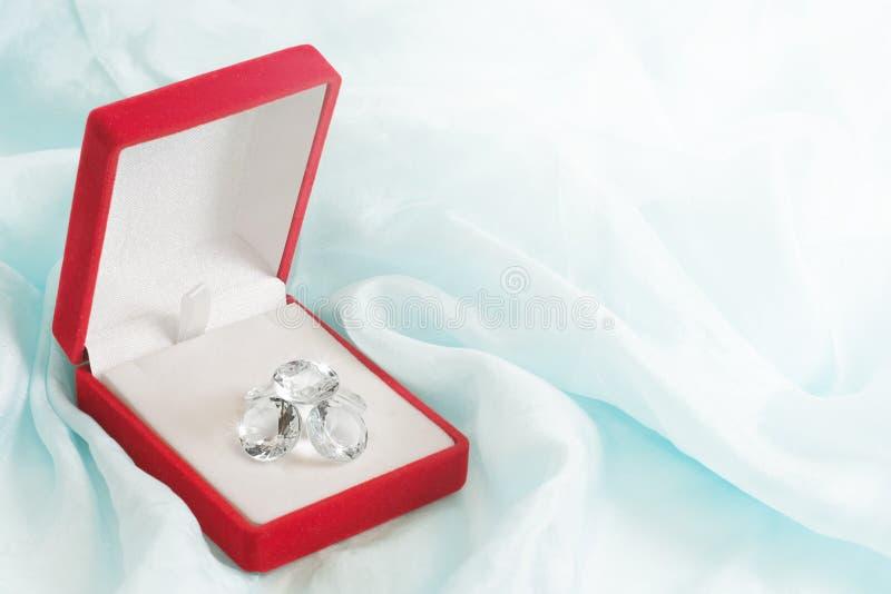 De Gift van de diamant stock afbeelding