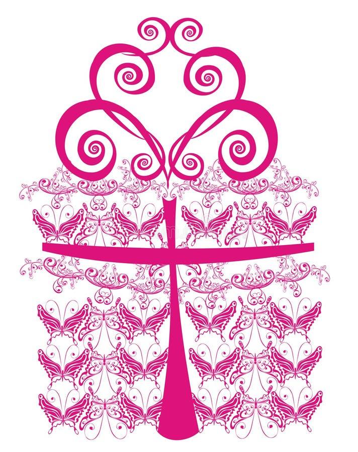 De gift van de verjaardag royalty-vrije illustratie