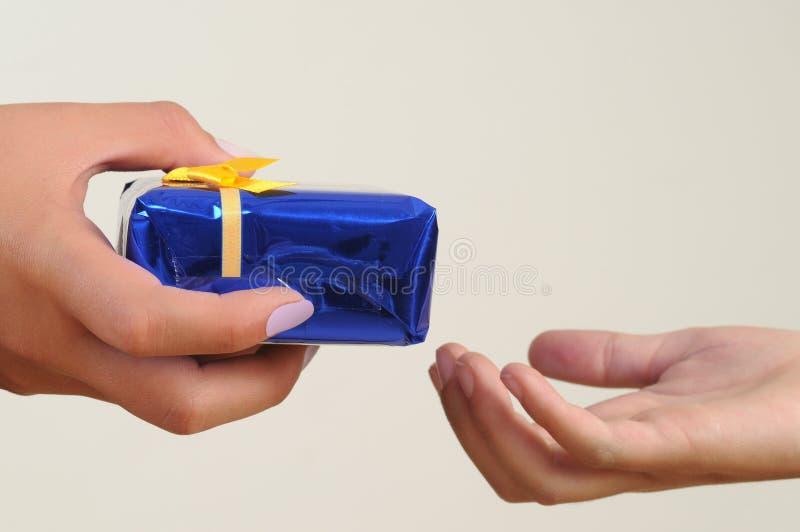 De Gift Van De Vriendschap. Stock Foto's