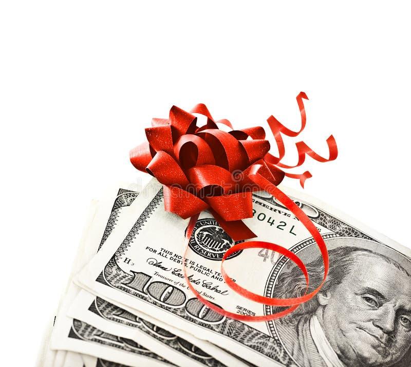 De gift van het geld stock afbeelding