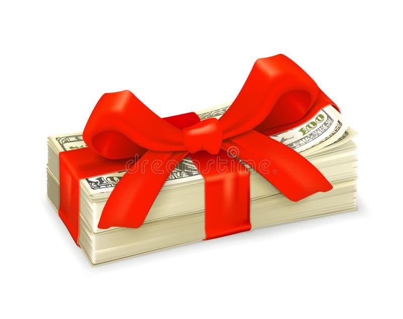 De gift van het geld vector illustratie