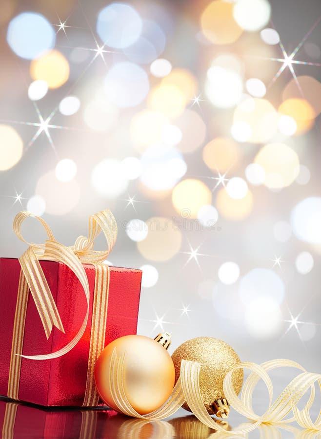 De gift van Kerstmis stock foto