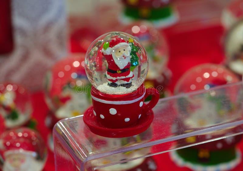 De gift van de Kerstmiskerstman stock afbeelding