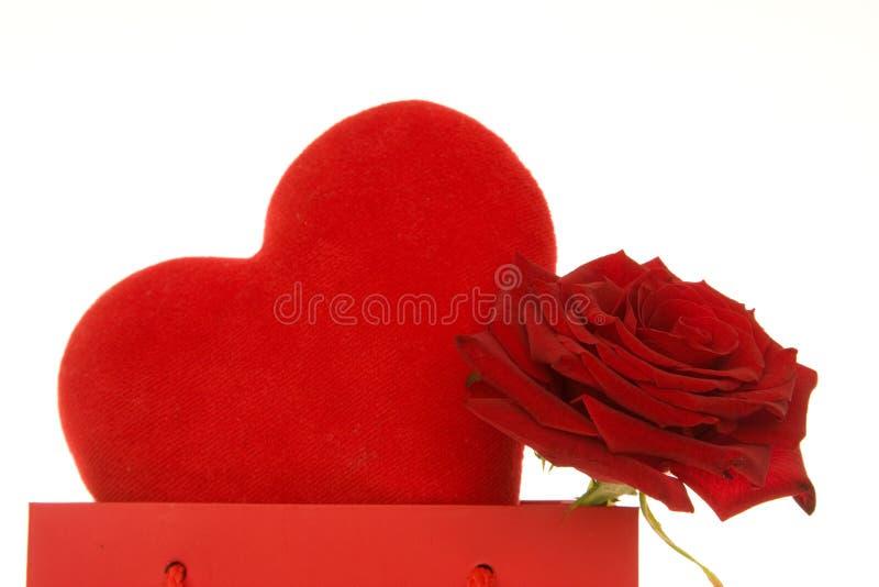 De gift van valentijnskaarten stock fotografie