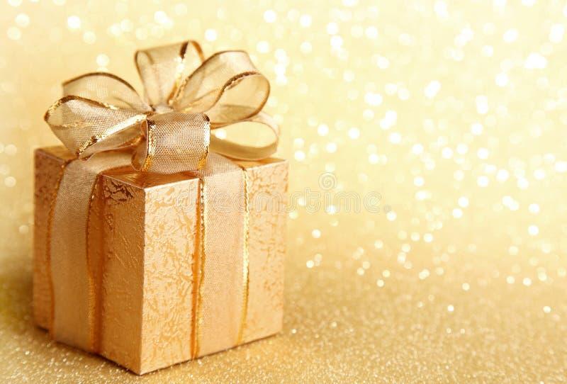 De giftdoos van Kerstmis royalty-vrije stock fotografie