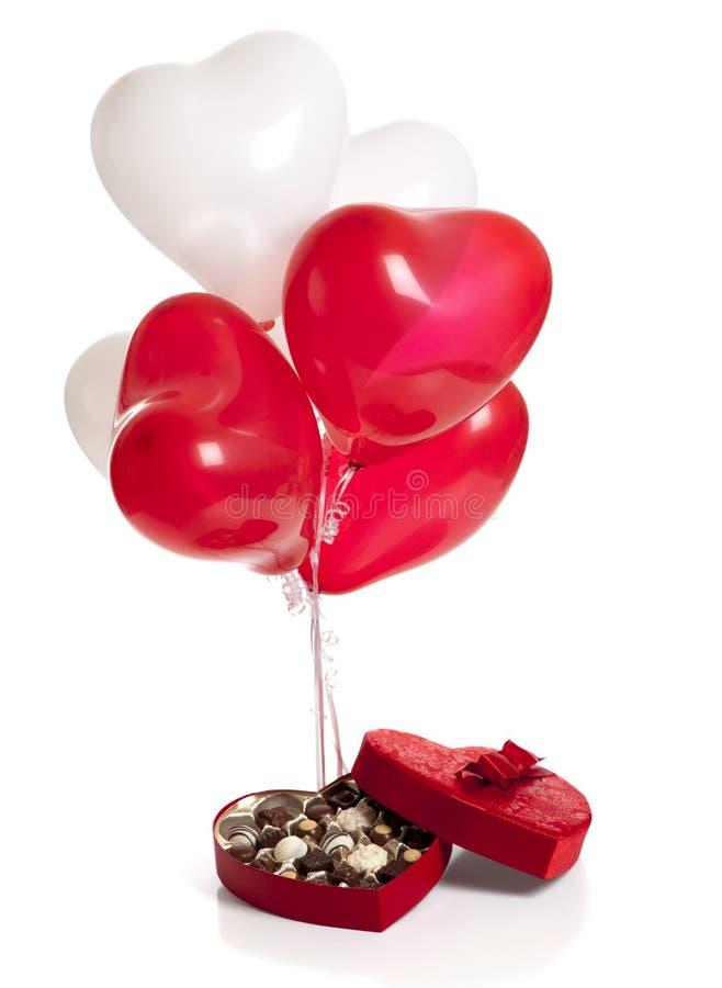 De Giften van de Dag van de valentijnskaart stock fotografie