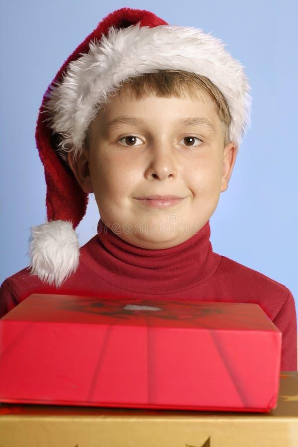 Download De Giften van Kerstmis stock foto. Afbeelding bestaande uit kind - 297356
