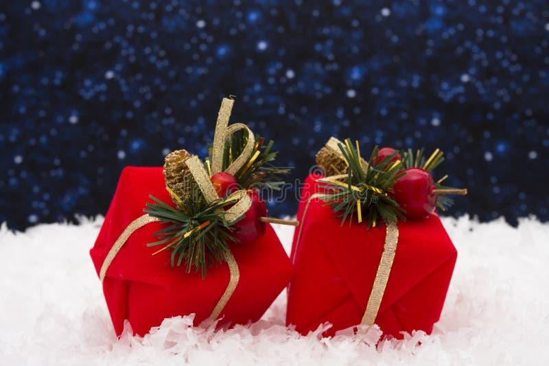 De Giften van Kerstmis stock foto