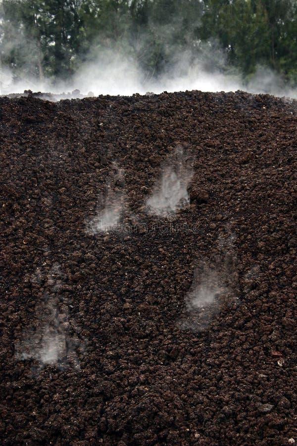 De gisting van het compost stock foto's