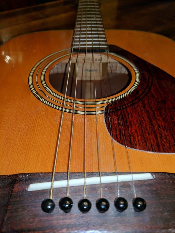 De gitaar royalty-vrije stock afbeeldingen