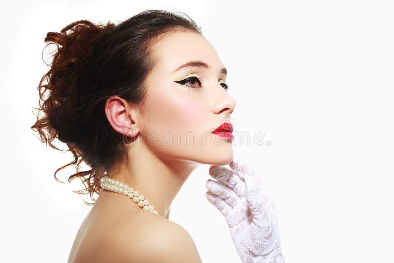 De glamour maakt omhoog royalty-vrije stock afbeeldingen
