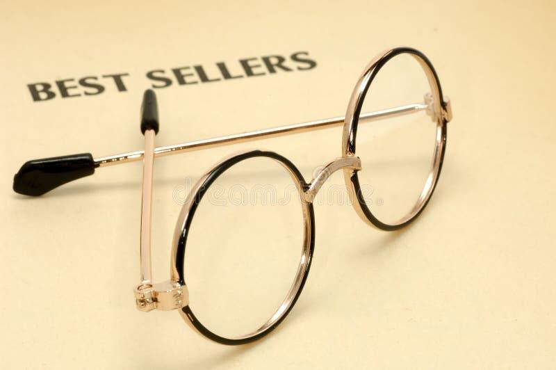 De Glazen van de lezing stock foto's