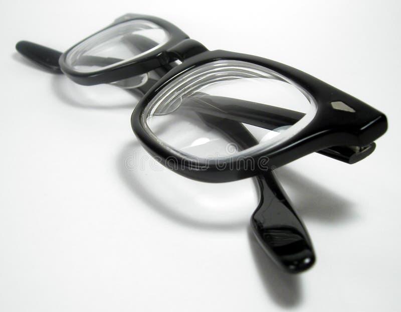 De Glazen van Geeky stock afbeelding