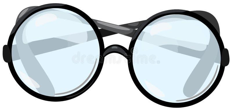 De glazen van het oog stock illustratie