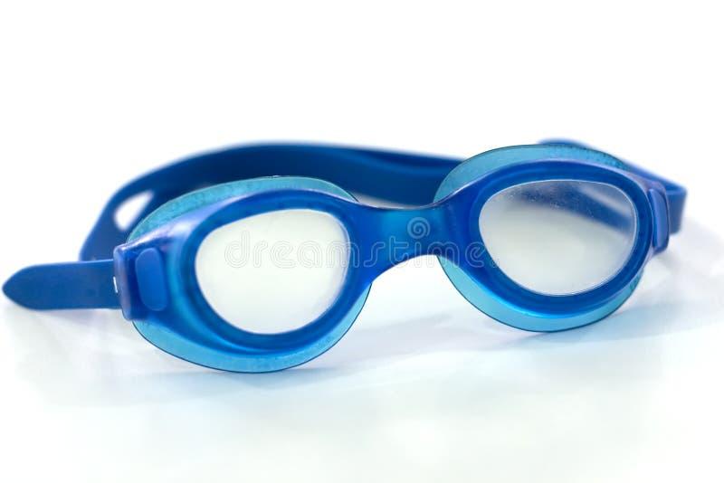 De glazen voor zwemmen royalty-vrije stock afbeeldingen