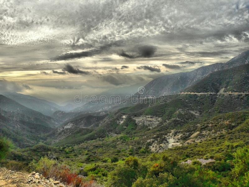 De Glendorarand, zet Baldy, Californië op royalty-vrije stock afbeeldingen