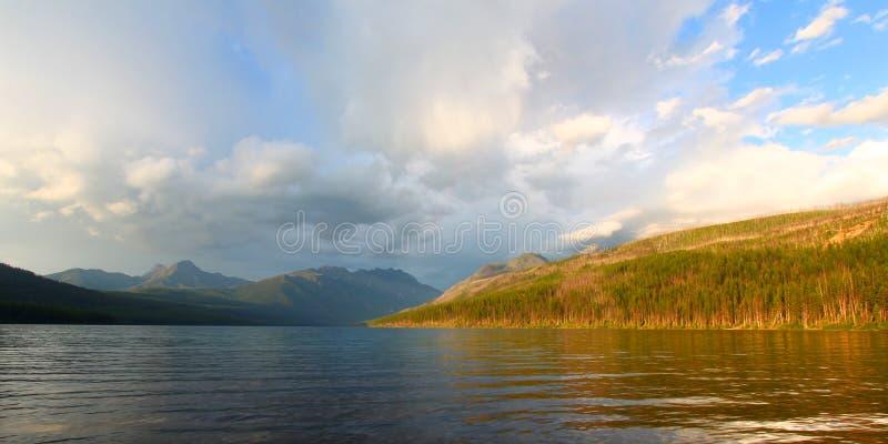 De Gletsjer Nationaal Park van het Kintlameer royalty-vrije stock fotografie