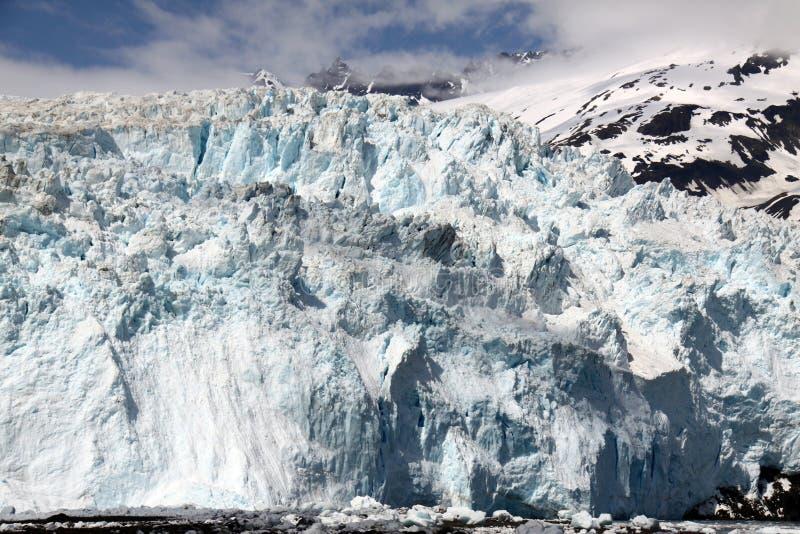 De Gletsjer van Aialik - het Nationale Park van Fjorden Kenai royalty-vrije stock foto's
