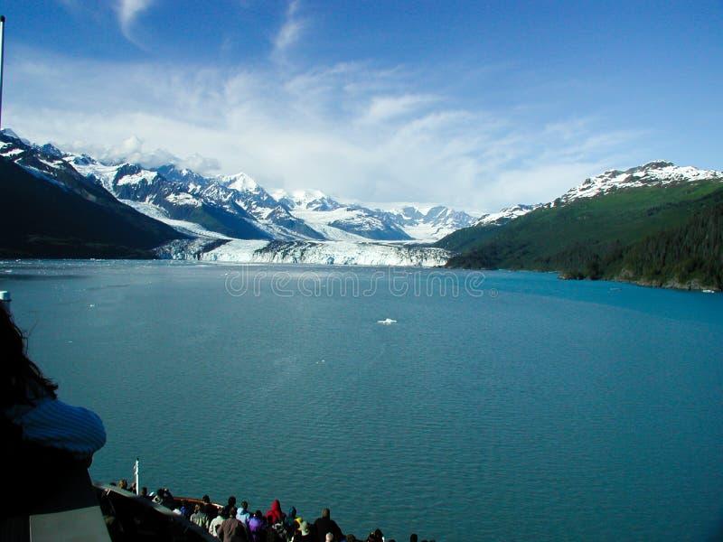 De gletsjer van Alaska   stock fotografie