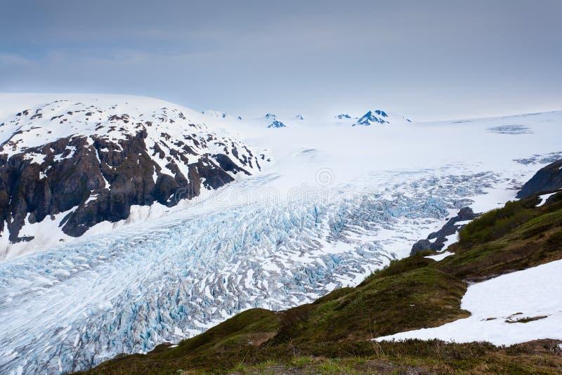 De gletsjer van de uitgang royalty-vrije stock foto's