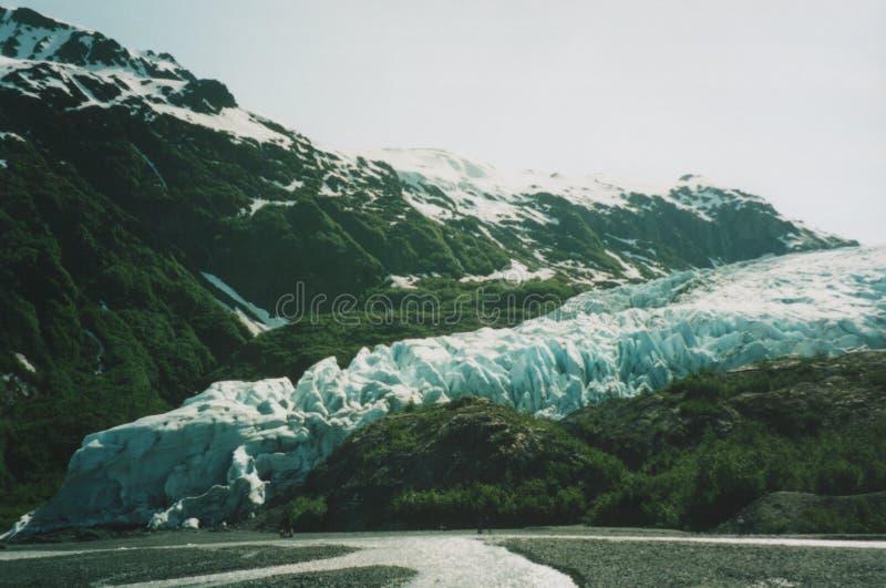 De Gletsjer van de uitgang, Alaska royalty-vrije stock afbeelding