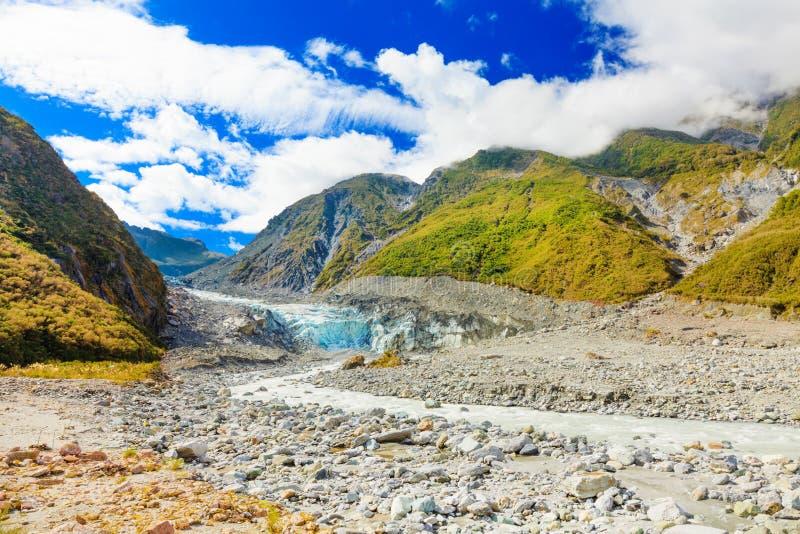 De gletsjer van de vos stock fotografie