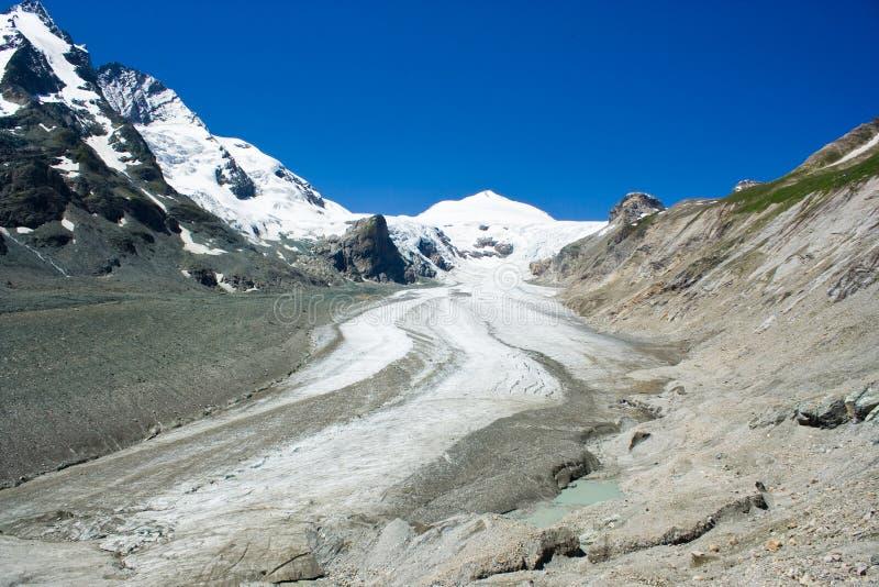 De gletsjer van Grossglockner royalty-vrije stock foto's