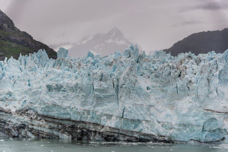 De Gletsjer van Hopkins van Johns Het Nationale Park van de Baai van de gletsjer royalty-vrije stock foto's