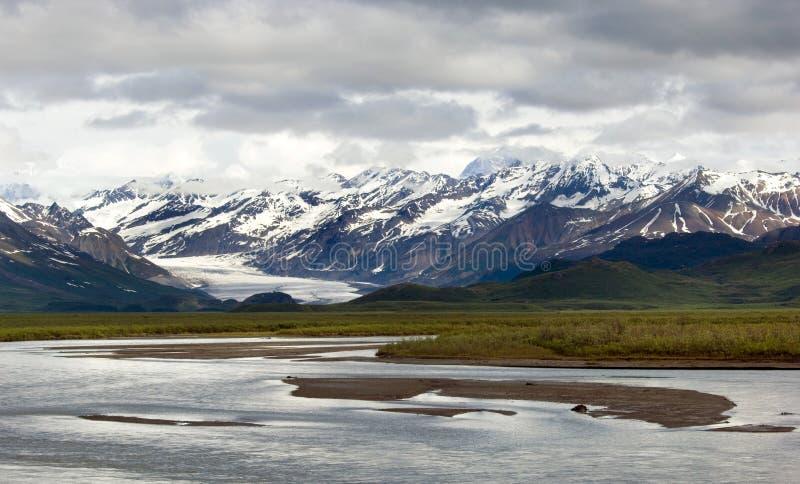 De Gletsjer van Matanuska royalty-vrije stock afbeelding