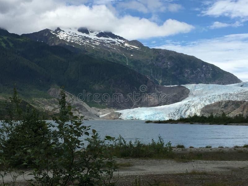 De Gletsjer van Mendenhall stock afbeelding